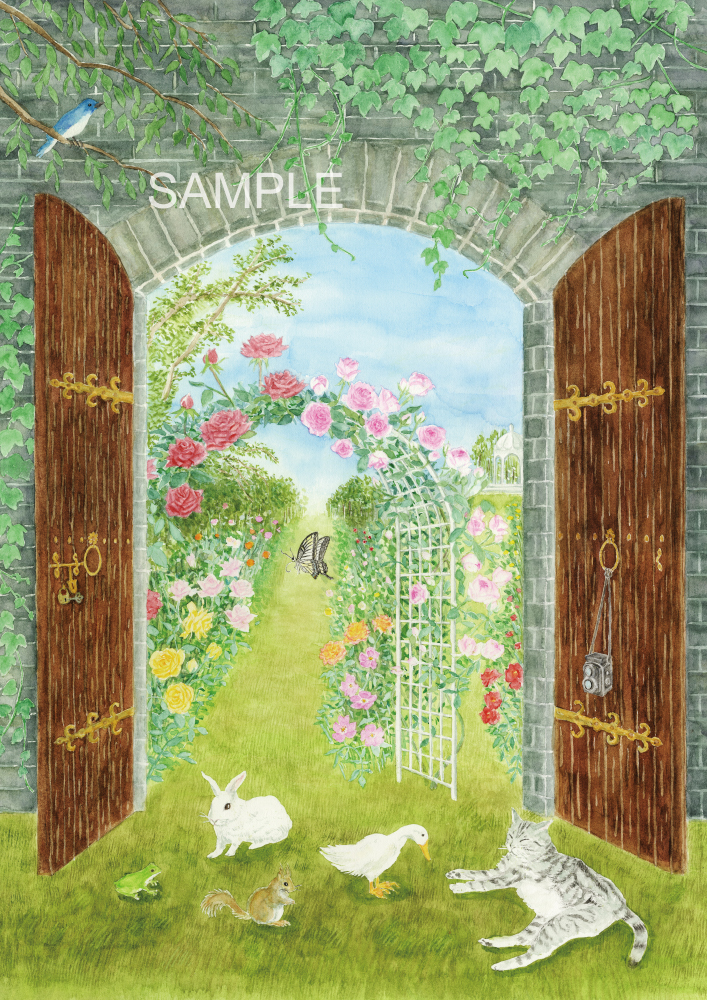 「秘密の花園」the secret garden